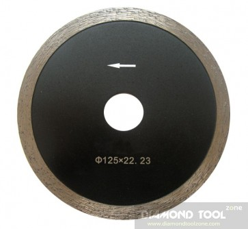 Small diamond blade for marble and quartz