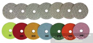 NEW granite and marble polishing pads sets