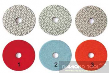 NEW 3-Step granite and marble polishing pads