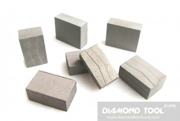 Diamond segments for granite 128 segments in a set - 2 m blade