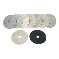 "4""  Dry Hexagon Polishing pads"