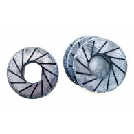 Magnetic diamond grinding wheel