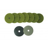 "4"" Wet diamond polishing pads"