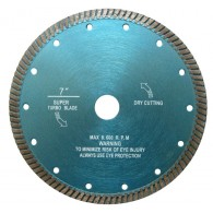 Diamond ultra thin turbo blade for granite